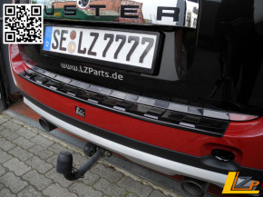 Dacia Duster Ladekantenschutz außen.