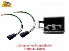 Lautsprecher Adapterkabel Renault / Dacia
