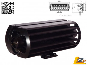 Lazer Lamps ST-4 Fernlicht Scheinwerfer mit E Prüfzeichen