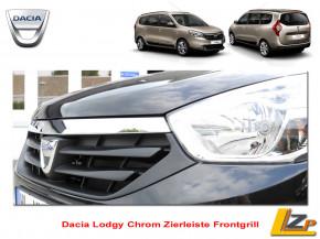 Dacia Lodgy Chrom Zierleiste Frontgrill