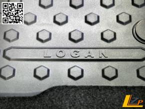 Dacia Logan MCV II Passform Fußmatten / Schneematten