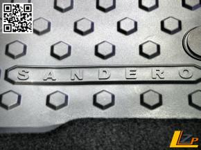 Dacia Sandero II Sandero Stepway II Passform Fußmatten / Schneematten