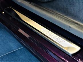Edelstahl Einstiegsleiste Beleuchtet mit Renault Schriftzug