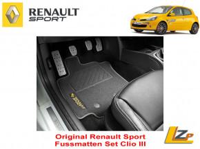 Renault Sport Fussmatten Clio III
