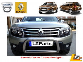 Renault Duster Frontgrill Chrom