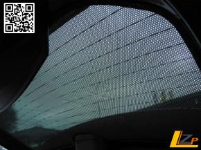 Dacia Duster Sonnenschutz hinten mit Duster Schriftzug