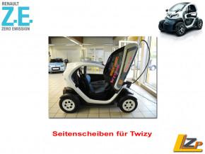 Twizy Seitenscheiben Set mit ABE Inkl. Tasche