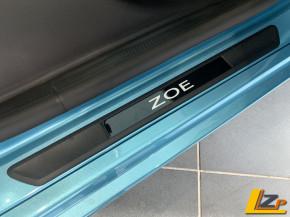 Renault Zoe Einstiegsleisten Blau
