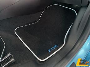 Renault Zoe Phase II Textil-Fußmatten Premium