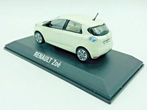 Renault Zoe Modellauto Farbe: Weiß 1/43
