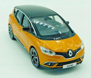 Renault Scenic Modellauto Farbe: Taklamakan Orange/Schwarz Maßstab 1/43 NEU/OVP
