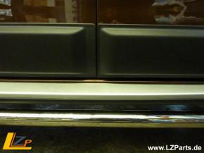 Dacia Duster I Seitenschutzleisten / Zierleisten Set 4-teilig